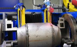 压力容器激光跟踪焊接