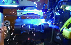 发动机外壳激光寻位焊