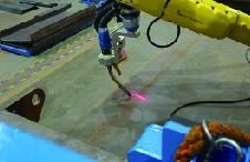 垃圾车斗跟踪焊接