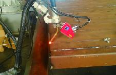 钢管束寻位焊接