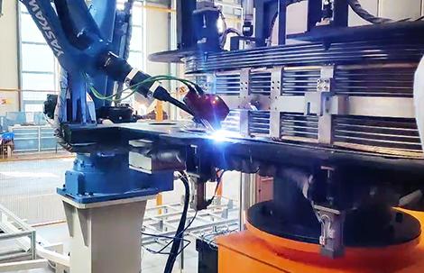 金属膨胀油箱焊接