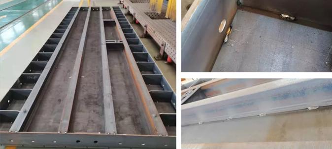 桥梁模板焊接新方案,英莱激光视觉焊缝跟踪系统,助力企业实现柔性化焊接!